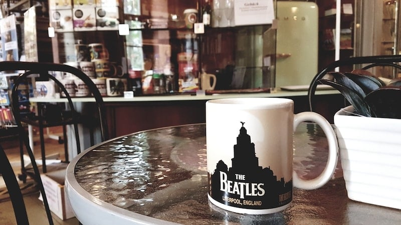 Cafe im Beatles Museum Halle