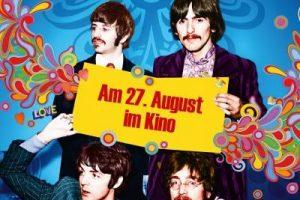 """1977: RINGO STARR schickt handschriftliches """"Thanks"""" für Ausstellung Das Phänomen Beatles (Vorläufer vom Beatles Museum)."""