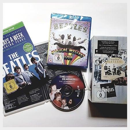 DVDs und Blu-ray Discs