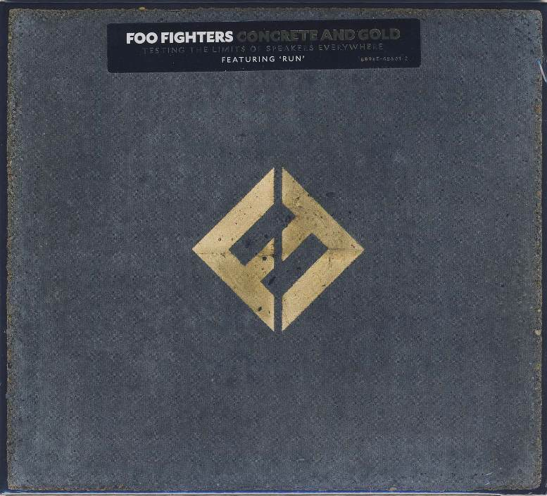 Foo fighters cd concrete and gold mit paul mccartney beatles museum - Cd concreet ...