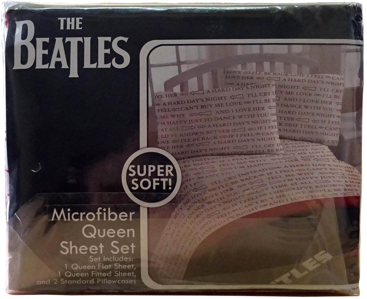 Beatles Bettwäsche A Hard Days Night Songs Beatles Museumbeatles