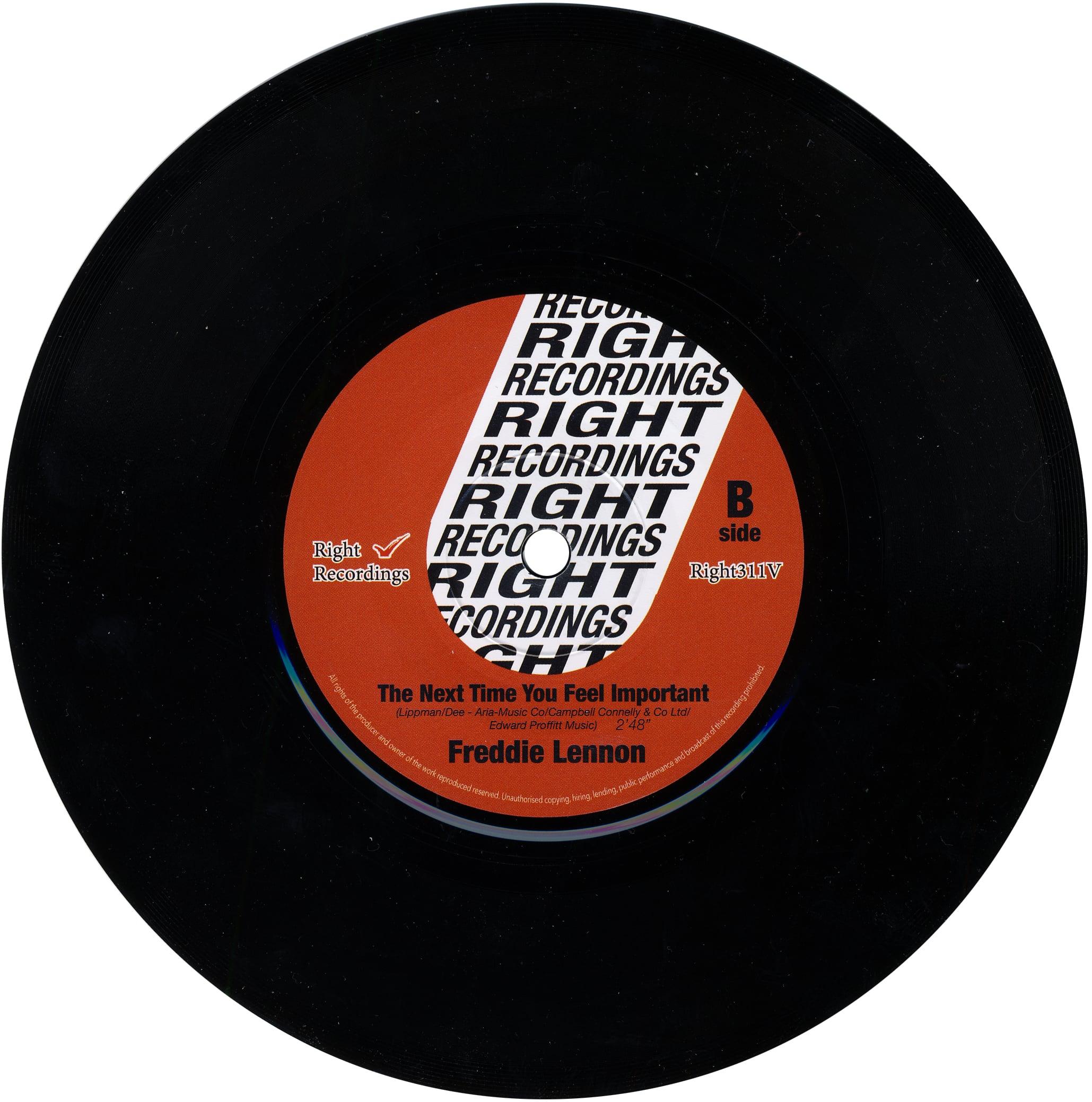 FREDDIE LENNON: Vinyl-Single THAT'S MY LIFE