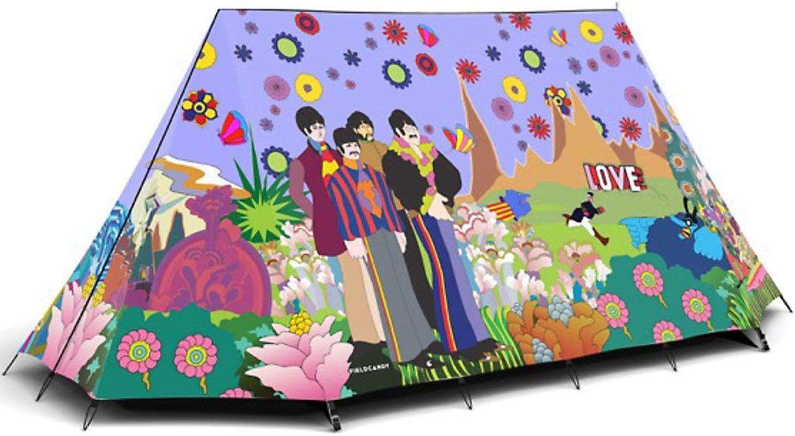 THE BEATLES: YELLOW SUBMARINE-Zwei-Personen-Zelt - Beatles ...