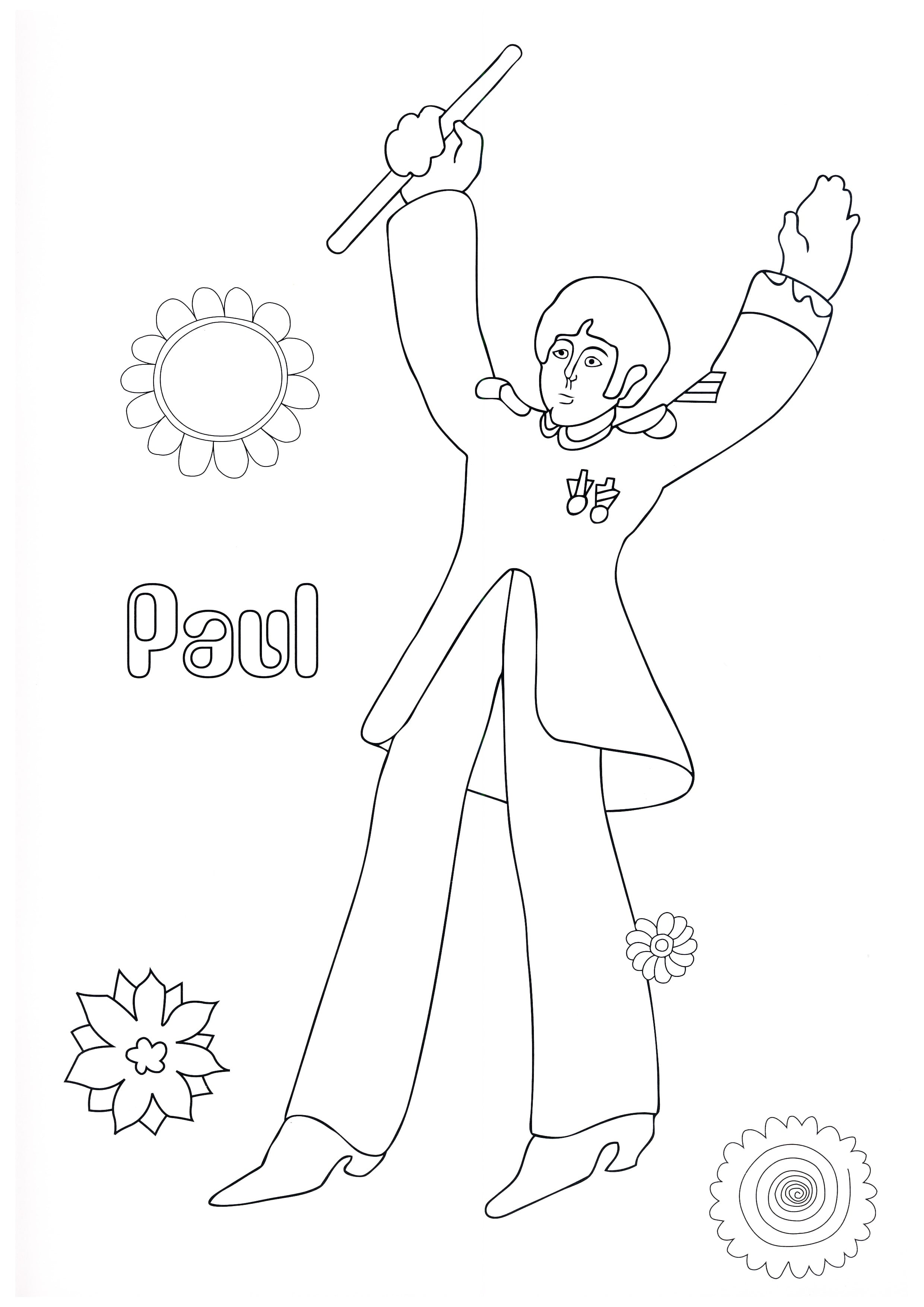 THE BEATLES: Malbuch YELLOW SUBMARINE COLOURING BOOK - Beatles ...