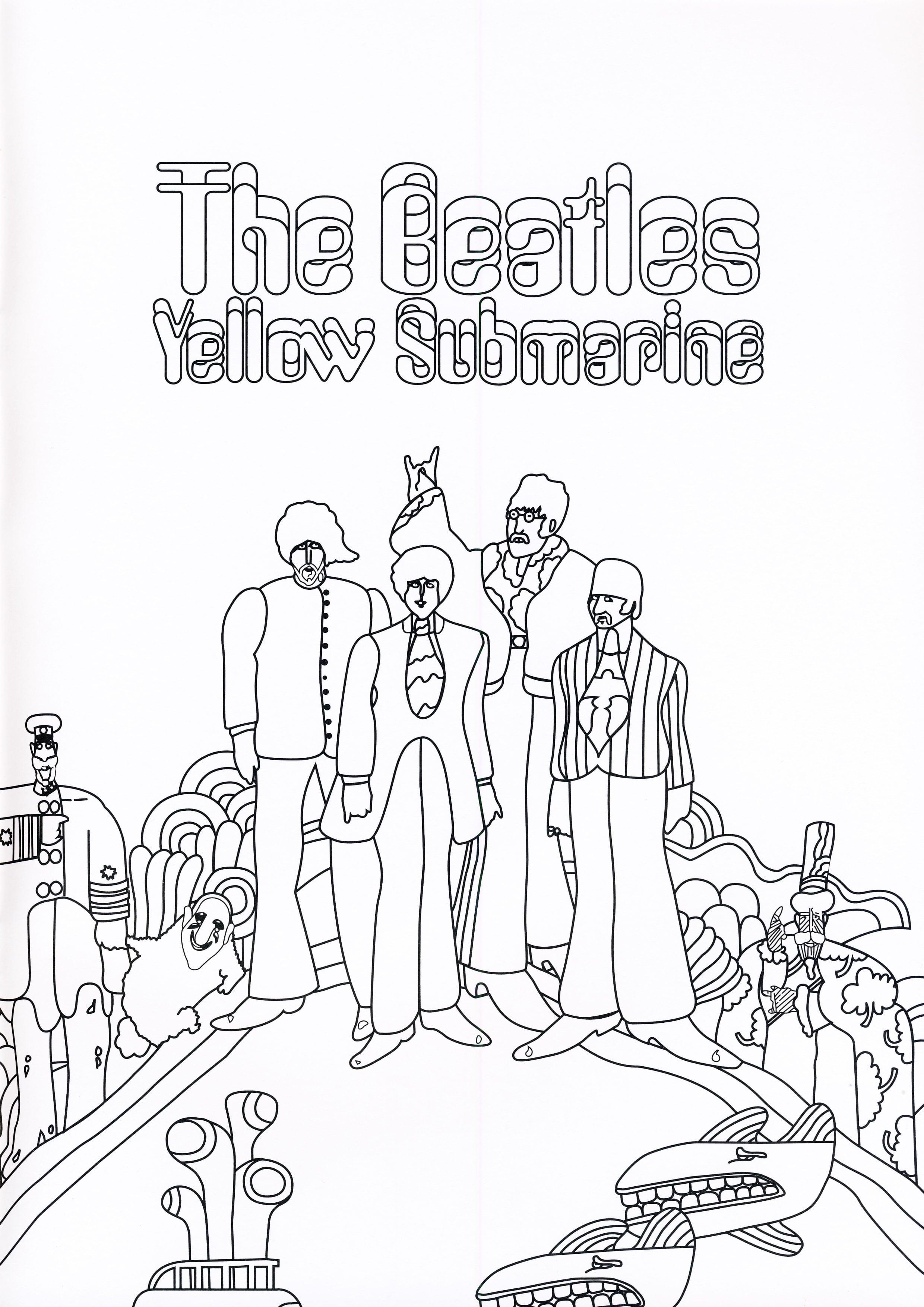 Wunderbar Beatles Malbuch Galerie - Framing Malvorlagen ...
