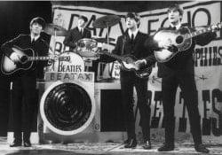 "BEATLES-Postkarte TV SHOW ""LATE SCENE"" 25TH NOV 1963 BLACK & WHI"