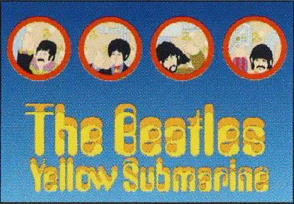 BEATLES Postkarte YS JOHN, PAUL, GEORGE AND RINGO PARTHOLES