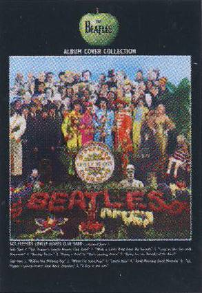 Postkarte Album Cover SGT. PEPPER'S