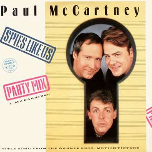 PAUL McCARTNEY: Maxisingle SPIES LIKE US