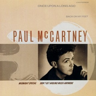 PAUL McCARTNEY: Maxisingle ONCE UPON A  LONG AGO