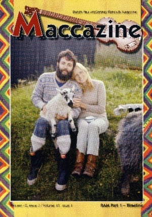 Buch MACCAZINE - THE McCARTNEY RAM SPECIAL - VOLUME ONE