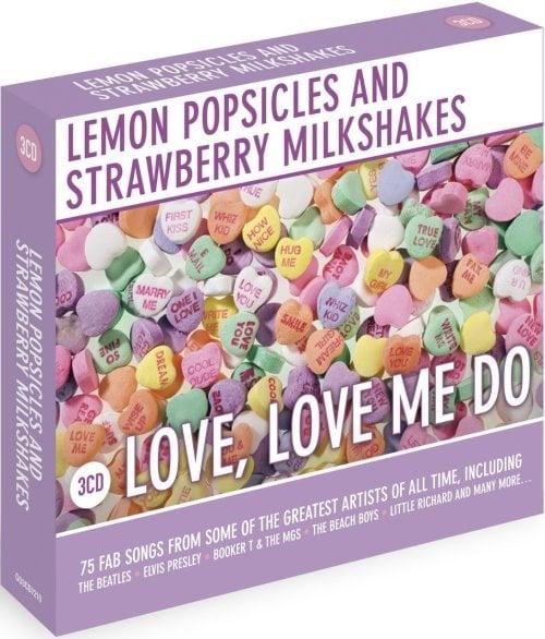 BEATLES & andere: 3er CD LEMON POPSICLES AND STRAWBERRY MILKSHAK