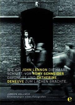 JÜRGEN VOLLMER: Buch WIE ICH JOHN LENNON DIE HAARE SCHNITT