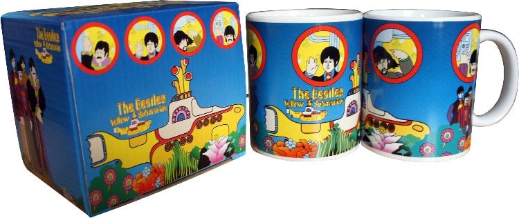 BEATLES-Kaffeebecher YELLOW SUBMARINE STORY