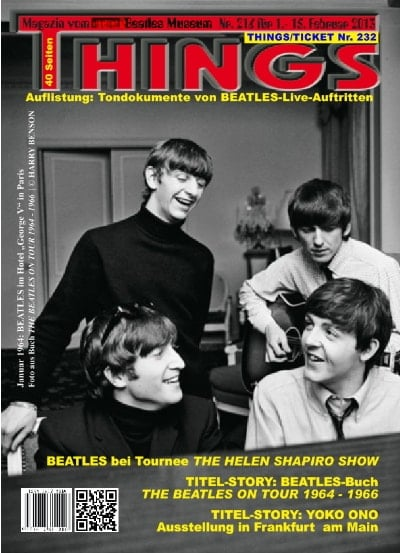 BEATLES-Heft THINGS 216 Nachdruck