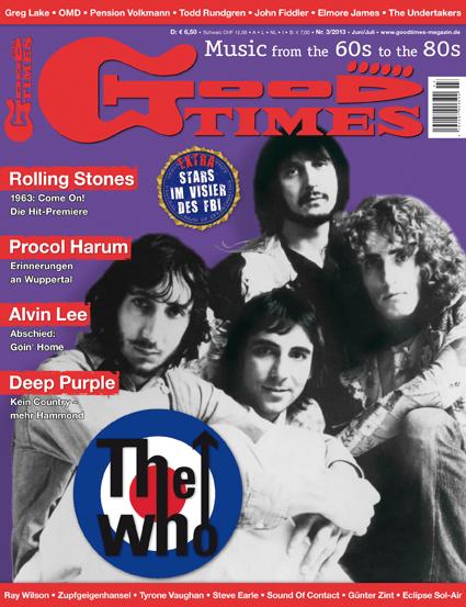 Musikzeitschrift GOOD TIMES 2013/03