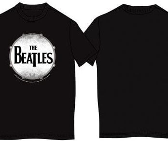 T-Shirt THE BEATLES BASS DRUM