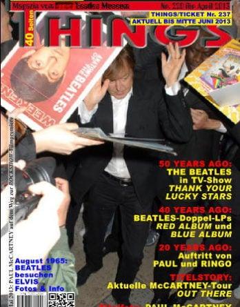 BEATLES: Fan-Magazin THINGS 220