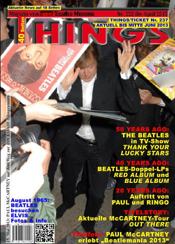 BEATLES: Fan-Magazin THINGS 220