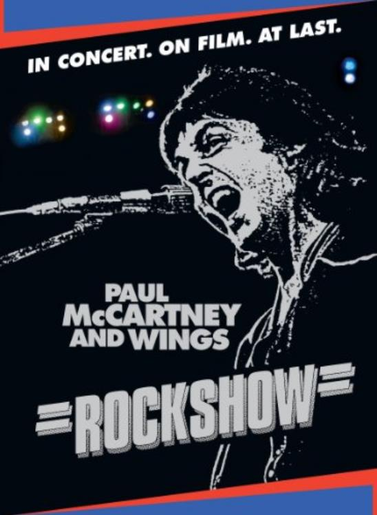 PAUL McCARTNEY & WINGS: DVD ROCKSHOW