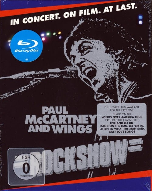 PAUL McCARTNEY & WINGS: Blu-ray ROCKSHOW