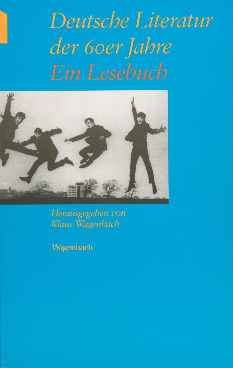 1996 Taschenbuch DEUTSCHE LITERATUR DER 60er JAHRE