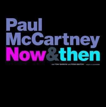 Deutsches Buch PAUL McCARTNEY NOW & THEN