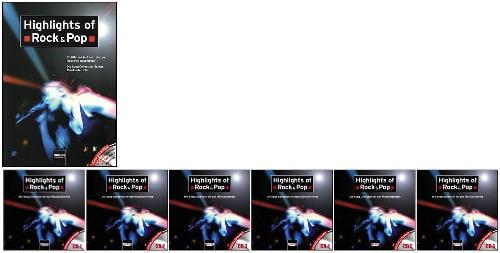 Buch (inkl. 6 CDs) HIGHLIGHTS OF ROCK & POP