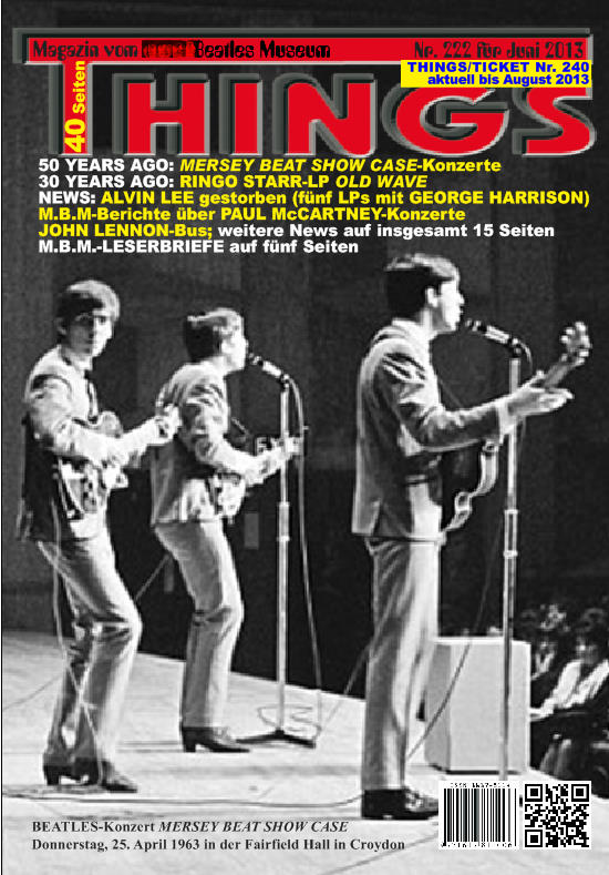 BEATLES-Magazin THINGS 222