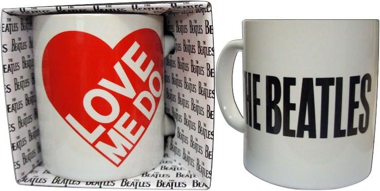 BEATLES-Kaffeebecher LOVE ME DO