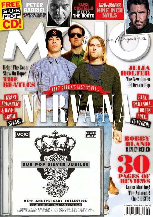 Musikmagazin MOJO 2013/09 mit CD