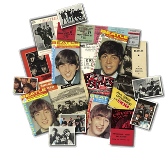 BEATLES MEMORABILIA SET