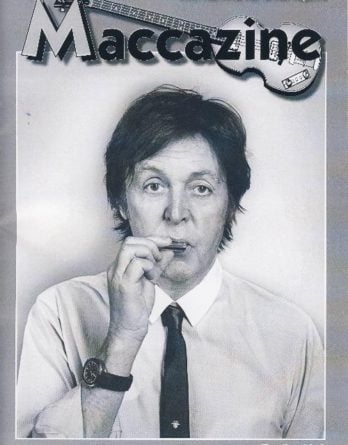 McCARTNEY: Fan-Magazin TIMELINE 2012