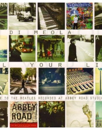 AL DI MEOLA: Doppel-LP ALL YOUR LIFE - A TRIBUTE TO THE BEATLES