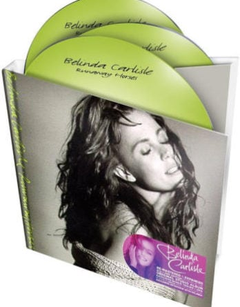BELINDA CARLISLE: Do-CD & DVD RUNAWAY HORSES (mit G. HARRISON)