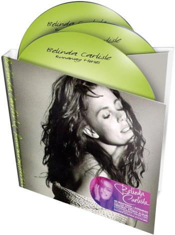 BELINDA CARLISLE: Do-CD & DVD RUNAWAY HORSES (mit G. HARRISON)