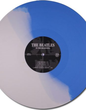 BEATLES-LP (blue white vinyl) IN THE BEGINNING