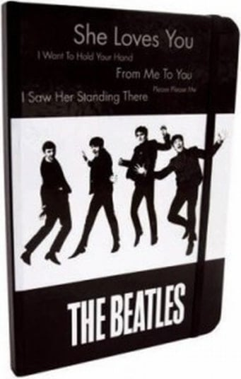 BEATLES: großes Notizbuch SHE LOVES YOU
