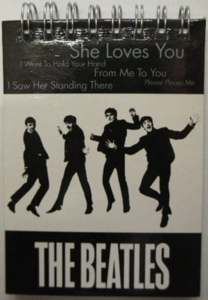 BEATLES: kleiner Notizblock SHE LOVES YOU