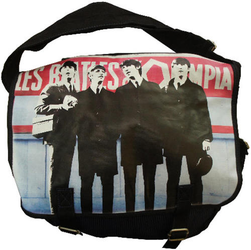 Schultertasche LES BEATLES A OLYMPIA
