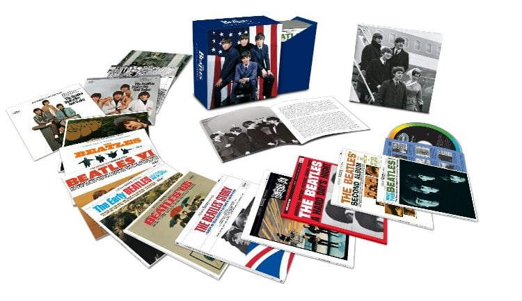 THE BEATLES: 13-CD-Box THE U.S. ALBUMS