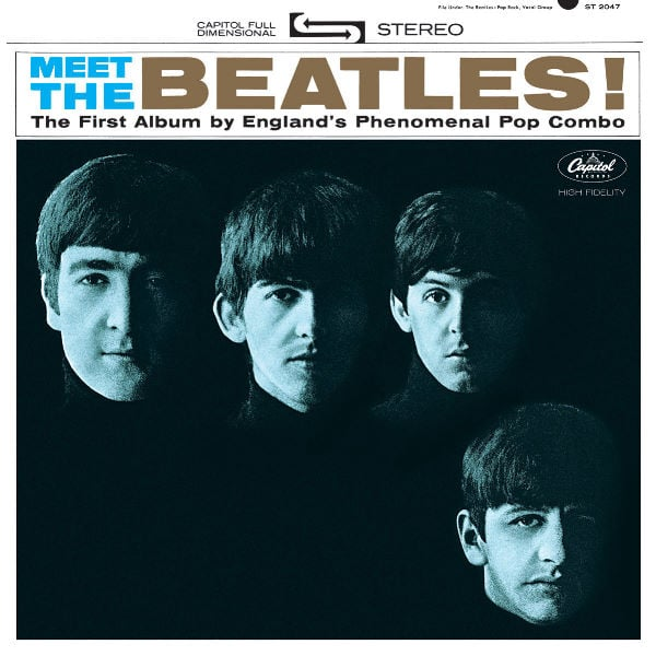 THE BEATLES US-CD 01: MEET THE BEATLES!