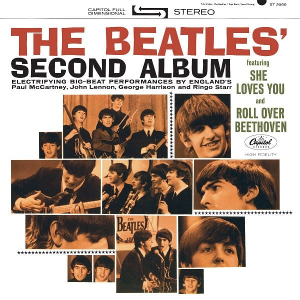 THE BEATLES US-CD 02: THE BEATLES!' SECOND ALBUM