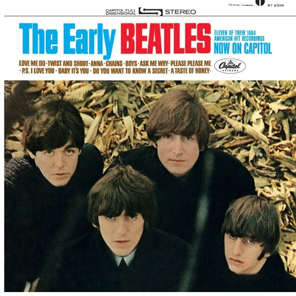 THE BEATLES US-CD 07: THE EARLY BEATLES