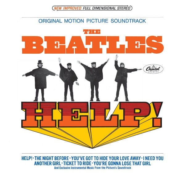 THE BEATLES US-CD 09: HELP! SOUNDTRACK ALBUM