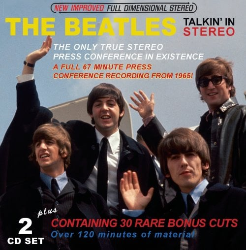 Doppel-CD THE BEATLES TALKIN' IN STEREO