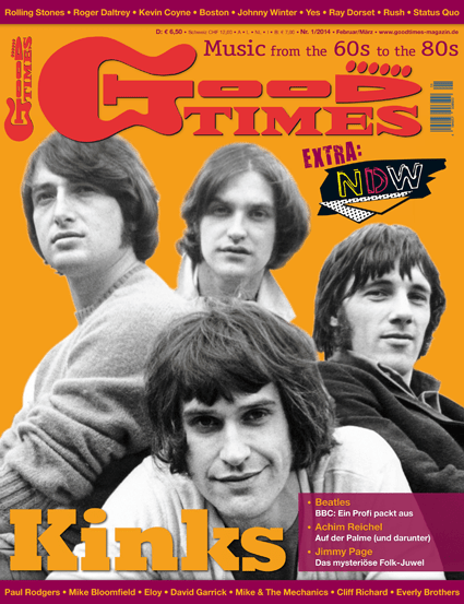 Musikzeitschrift GOOD TIMES 2014/01