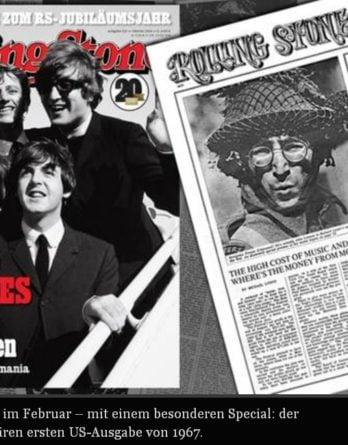 Zeitschrift ROLLING STONE 02/2014 mit viel BEATLES