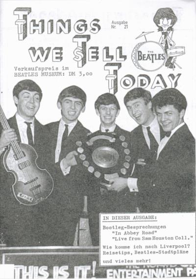 BEATLES: Fan-Magazin THINGS 21