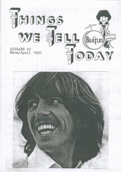 BEATLES: Fan-Magazin THINGS 40